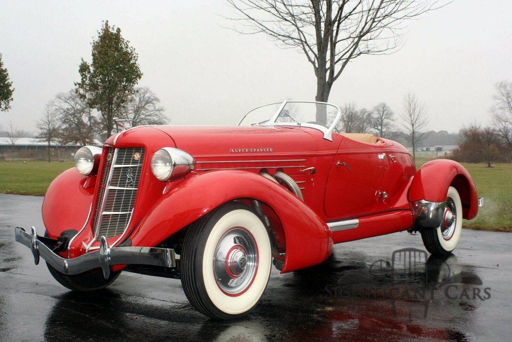 1936 Auburn Boattail Speedster