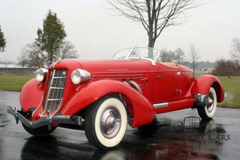 1936 Auburn Boattail Speedster na prodej