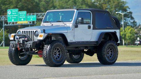 2005 Jeep Wrangler na prodej