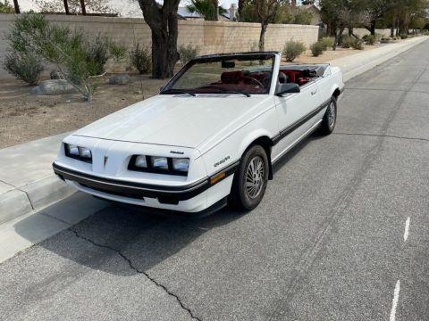 1985 Pontiac Sunbird na prodej