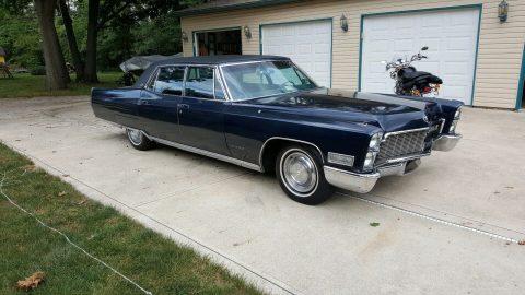 1968 Cadillac Fleetwood na prodej
