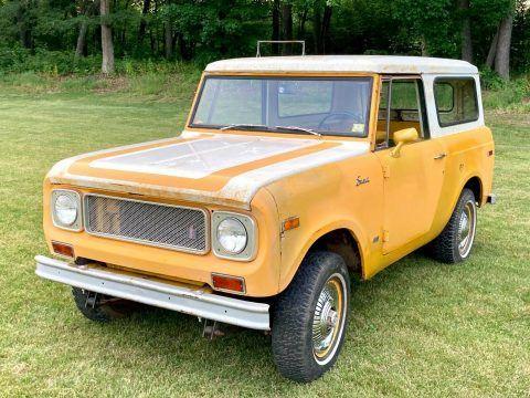 1971 International Harvester Scout na prodej