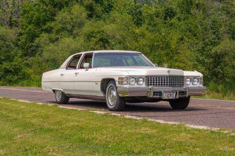 1974 Cadillac Fleetwood na prodej